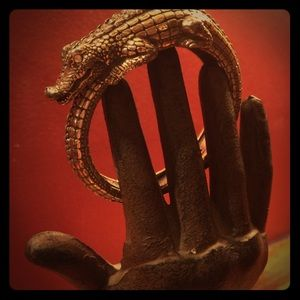 Jewelry - Alligator Clamper Bracelet